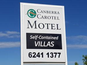 Carotel Road signage