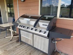 Free BBQ facilities