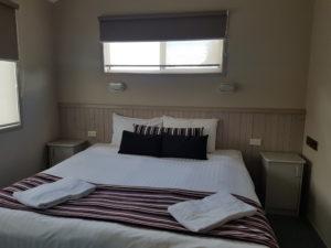 King Bed in Spa Villa Master bedroom